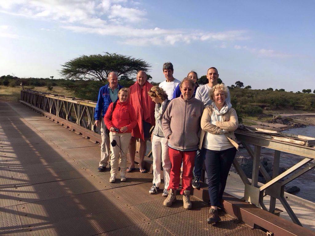 vrijwilligers in Kenia bij de Masai Mara